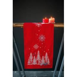 Kit chemin de table Noël forêt - 4