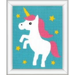 Kit tapisserie licorne - 4