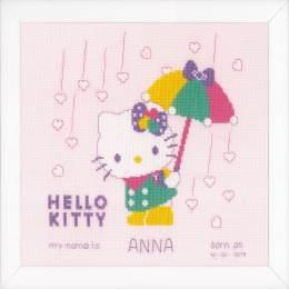 Kit au point compté Hello Kitty pastel - 4