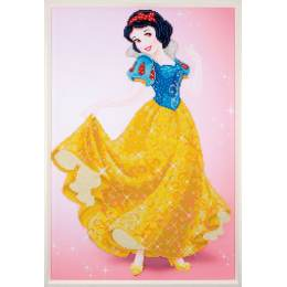 kit Diamond painting Disney Blanche-neige 47x70 cm - 4