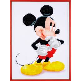kit Diamond painting Disney Mickey Mouse 31x43 cm - 4