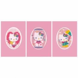 Kit carte de voeux hello kitty pastel lot de 3 - 4