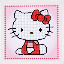 kit Diamond painting Hello Kitty 22x22 cm - 4