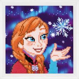 kit Diamond painting Disney anna 22x22 cm - 4