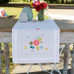 Kit chemin de table fleurs de printemps & papillon - 4