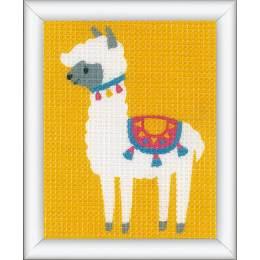 Kit tapisserie petit lama - 4