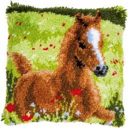 Tapis kit au point noué frisky foal - 4