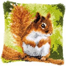 Kit coussin au point noué ecureuil - 4
