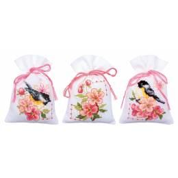 Bag kit birds and blossoms set de 3 - 4