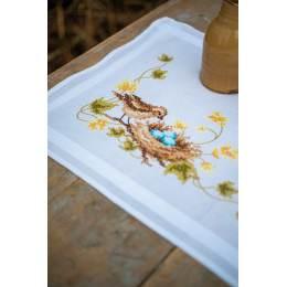 Kit chemin de table petit oiseau dans le nid - 4