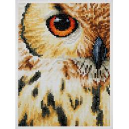 kit Diamond painting hibou - 4