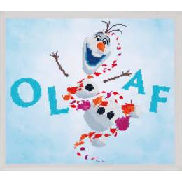 kit Diamond painting Disney Olaf 47x42 cm - 4