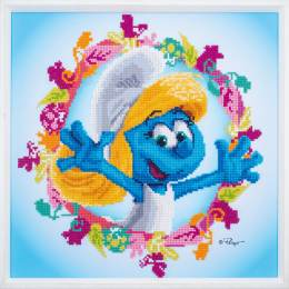 kit Diamond painting schtroumpfs smurfette - 4