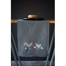 Kit chemin de table rooster and chicken - 4