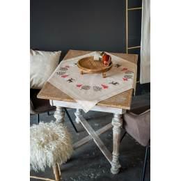 Kit chemin de table modern Noël designs - 4