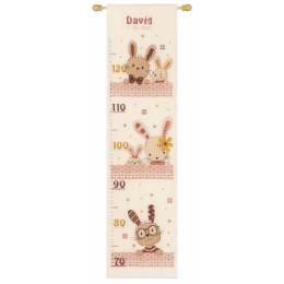 Kit toise point compté sweet bunnies - 4