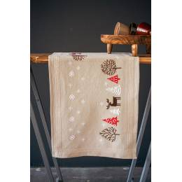 Kit chemin de table modern Noël - 4