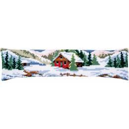 Kit bas de porte point de croix winter scenery - 4