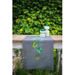 Kit chemin de table feuilles botanique - 4