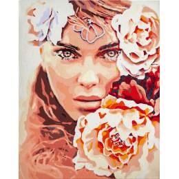 Kit peinture par numéro enchanting eyes - 4
