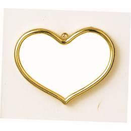 Cadre en plastique cœur - 4