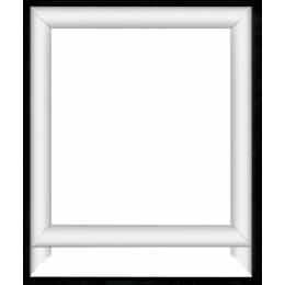 Cadre en bois vervaco verni en blanc 13/16 - 4