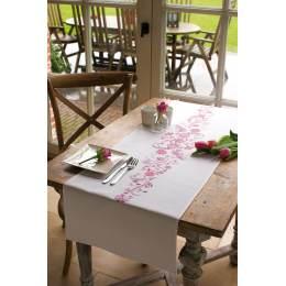 Chemin de table blanc kit complet 38/142 c - 4