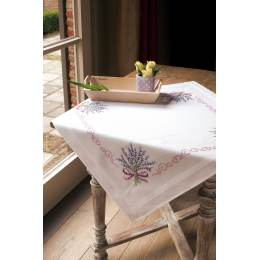 Nappe blanche kit complet 80/80cm - 4