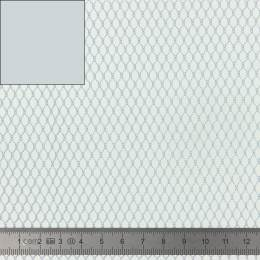 Tissu filet Mesh Fabric gris - 40