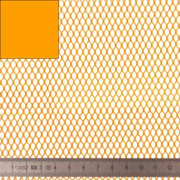 Tissu filet Mesh Fabric orange - 40