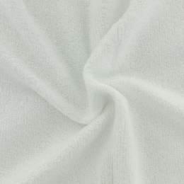 Tissu éponge de bambou blanc - 401