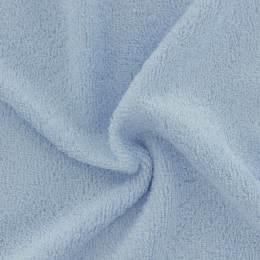 Tissu éponge de bambou bleu ciel - 401