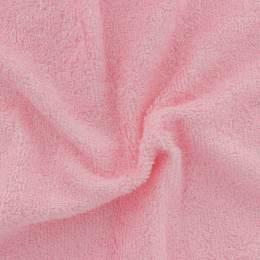 Tissu éponge de bambou rose lytchees - 401