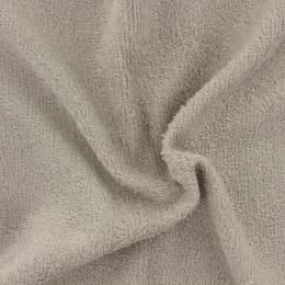 Tissu éponge de bambou taupe noisette - 401