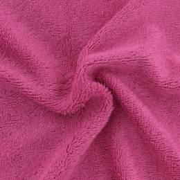 Tissu éponge de bambou fushia - 401