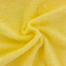 Tissu éponge de bambou jaune banane - 401