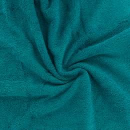 Tissu éponge de bambou lagon - 401
