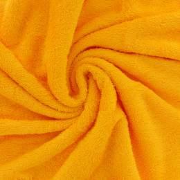 Tissu éponge de bambou jaune madras - 401
