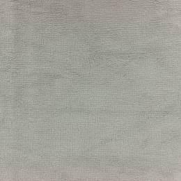 Tissu éponge microfibre bambou gris perle - 401