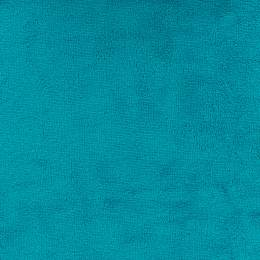 Tissu éponge microfibre bambou lagon - 401