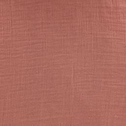 Tissu double gaze terracotta - 401