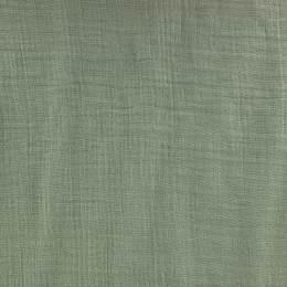Tissu double gaze gris vert - 401