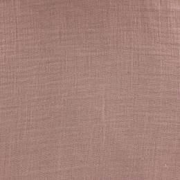 Tissu double gaze vieux rose - 401