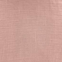 Tissu double gaze rose - 401