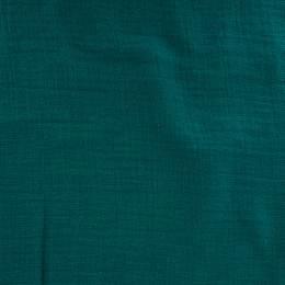 Tissu double gaze vert - 401