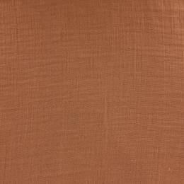 Tissu double gaze rouille - 401