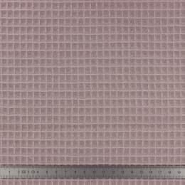 Tissu éponge en nid d'abeille bio lavande - 401