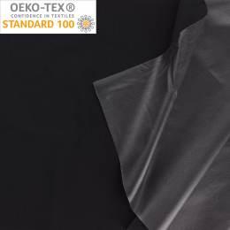 Tissu pul imperméable noir - 401
