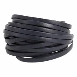 Cuir noir de 5 mm - 408