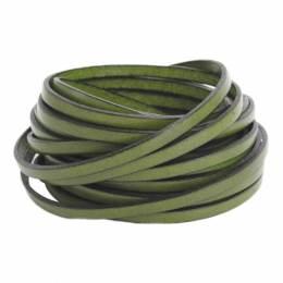 Cuir vert boise de 5 mm - 408